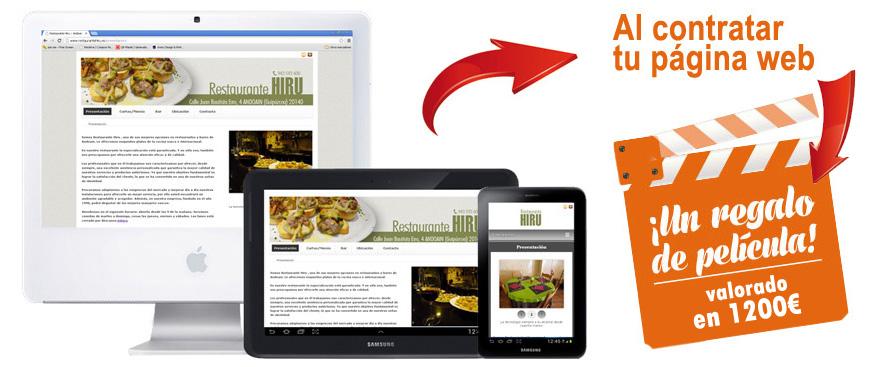 web compatible con todos los dispositivos
